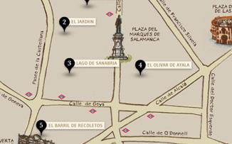 La ruta de los salmorejos del Barrio de Salamanca