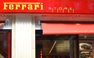 Pasión por el rojo Ferrari